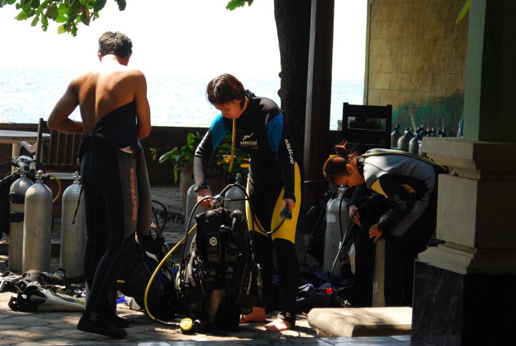 Tulamben Diving, Bali
